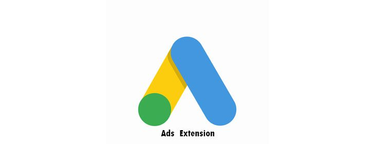 Extensions used while running Ads