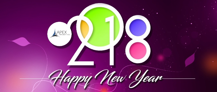 New Year 2018 resolution by Apex InfoTech India Pvt. Ltd.