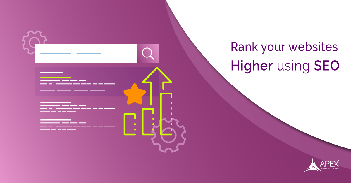 Rank your websites higher using SEO