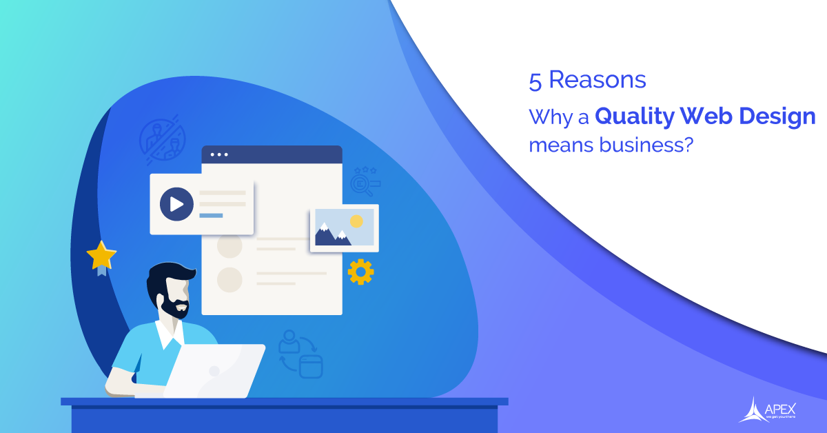 5 Reasons why a quality web design means business. (2019 Web Design trends)