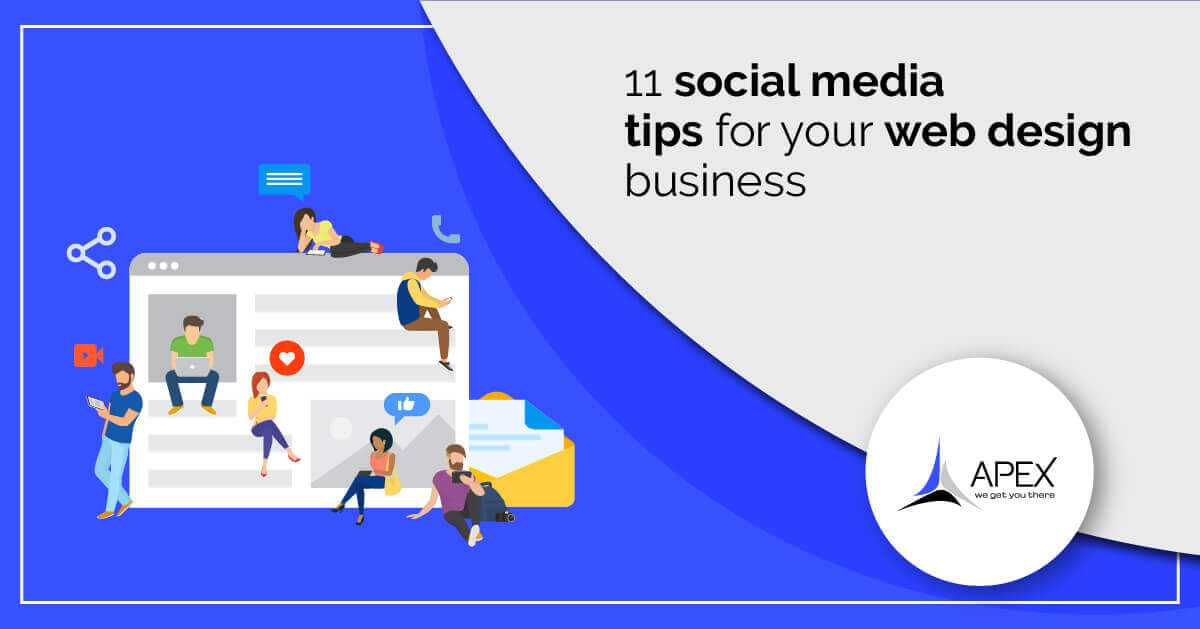 11 social media tips for your web design business