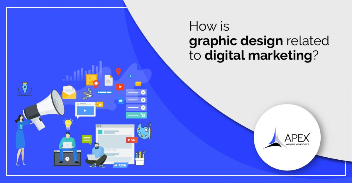 How is graphic design related with digital marketing