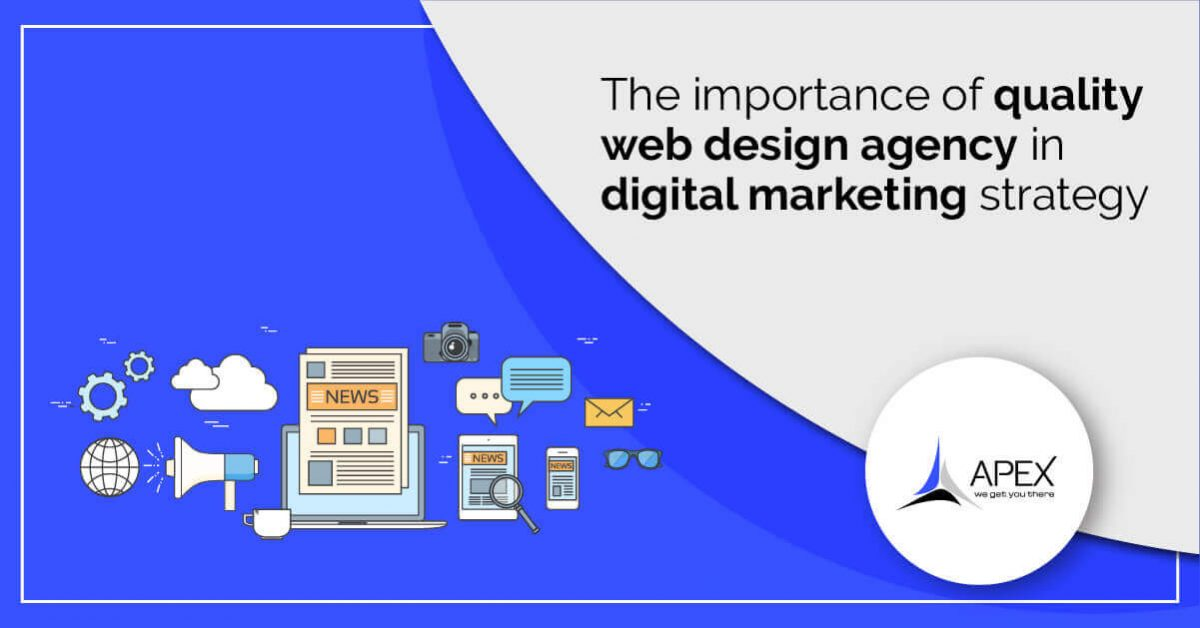 Importance of quality webdesign in Digital Marketing