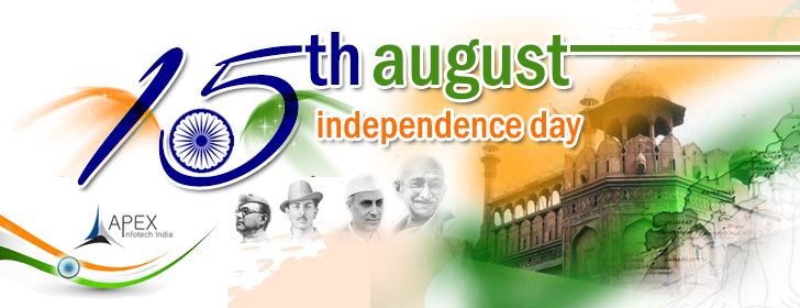 Apex Infotech India Pvt. Ltd. Celebrating 72th Independence Day 15th August 2018