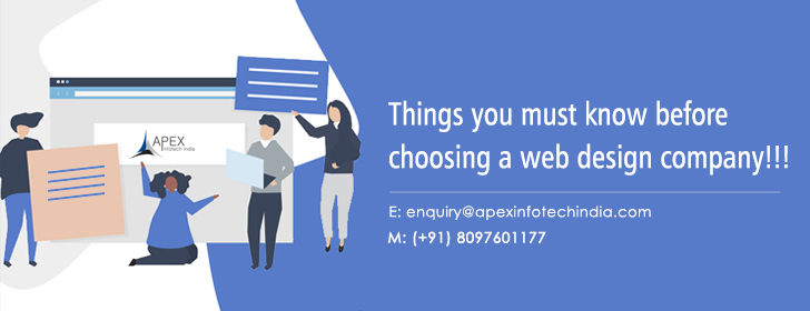 Things you must know before choosing a web design company!