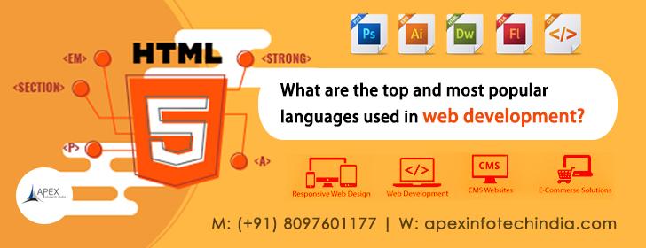 Top language web development