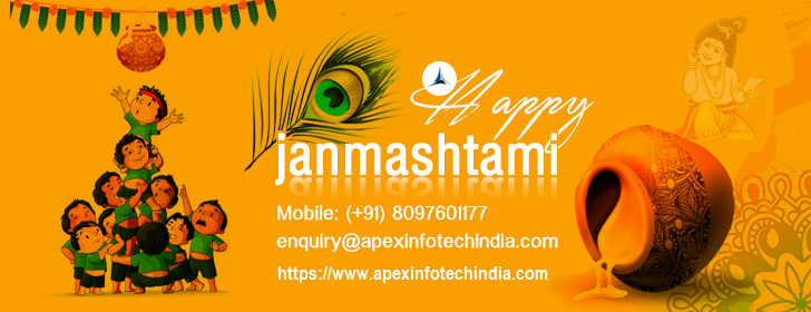 Apex Infotech India Pvt. Ltd. Celebrating Indian Festival Krishna Janmashtami 2018